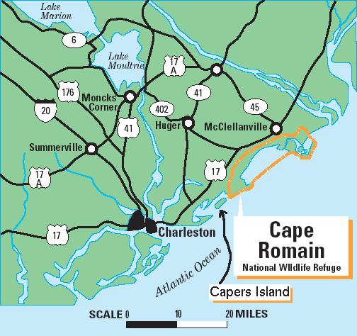 South Carolina Map Islands.Semanchuk Com Kayak Trip Reports