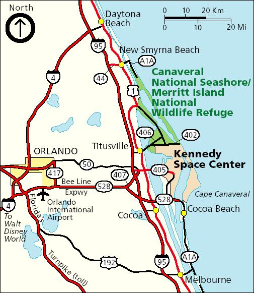 Merritt Island Florida Map.Semanchuk Com Kayak Trip Reports
