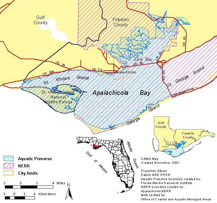 Apalachicola Florida Map.Semanchuk Com Kayak Trip Reports